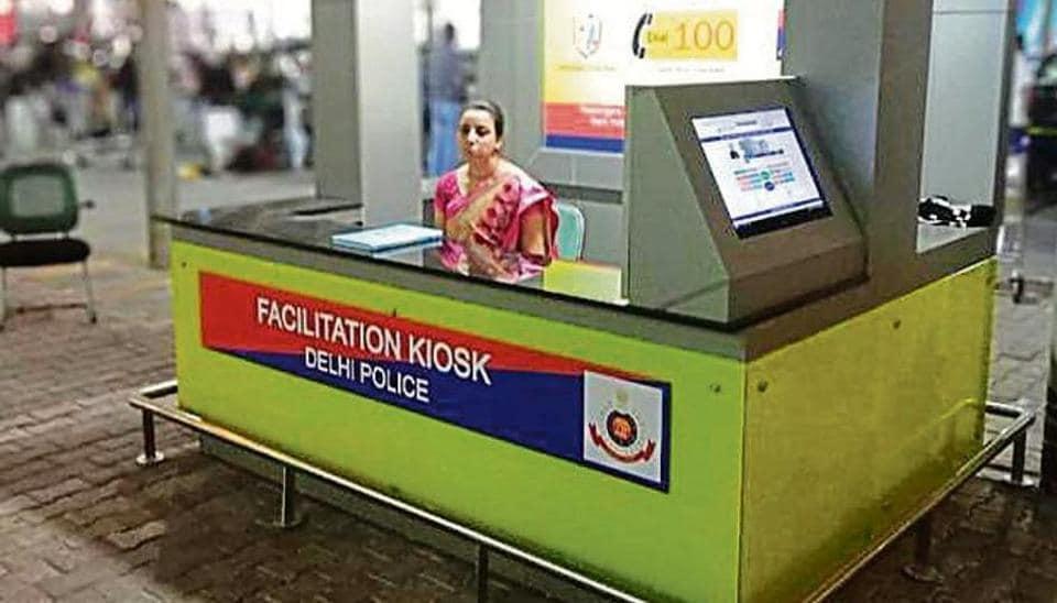 E-cop,kiosk at domestic terminal,domestic terminals