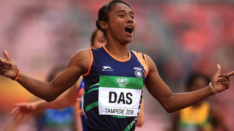 A file photo of Hima Das.