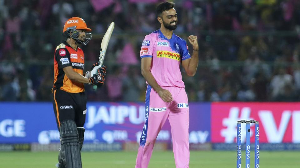 IPL 2019,Rajasthan Royals,Sunrisers Hyderabad