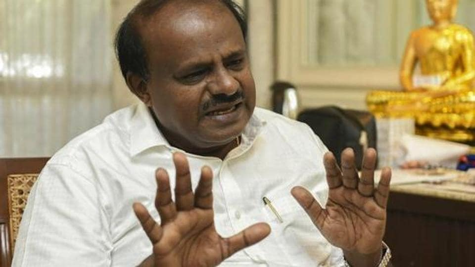 Karnataka chief minister H D Kumaraswamy Sunday said he was 'boycotting' the media, apparently upset over the coverage of the Mandya Lok Sabha polls, where his son Nikhil Gowda is in the fray.