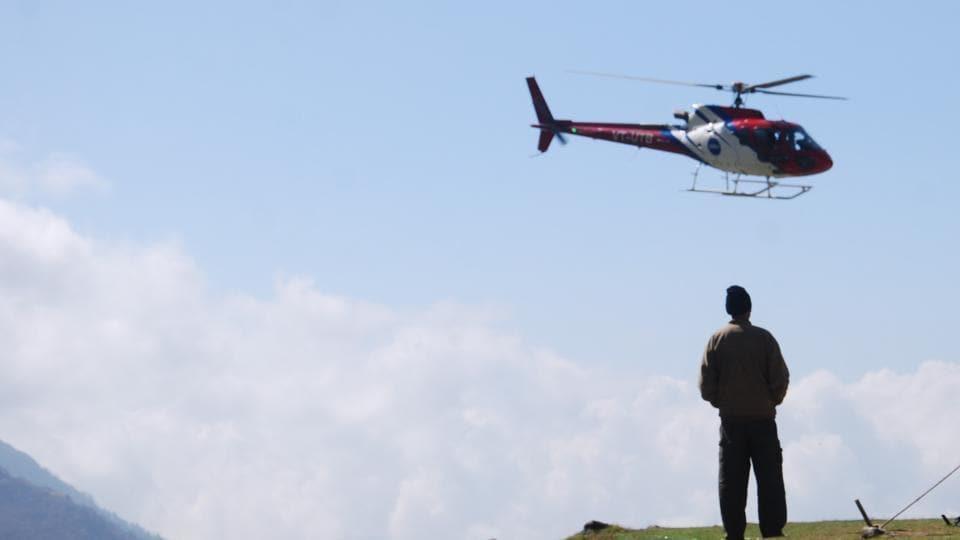 chardham yatra,uttarakhand,helicopter services for chardham yatra