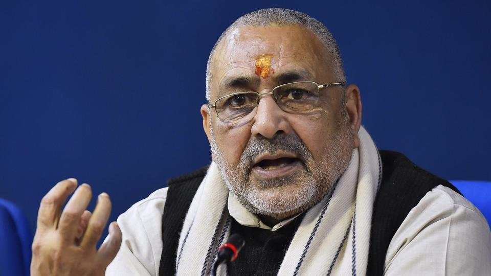 The Election Commission Monday issued a show-cause notice to Union minister and BJP leader Giriraj Singh for his communal remarks.