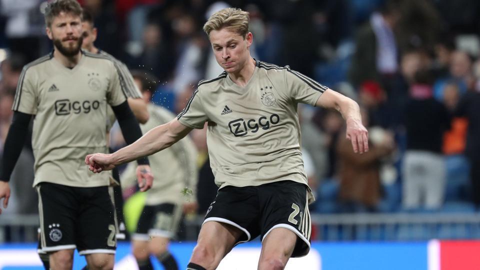 Frenkie de Jong,Matthijs De Ligt,Champions League title