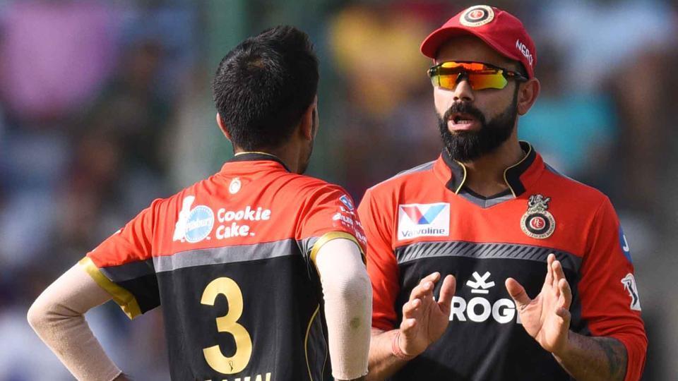 Royal Challengers Bangalore player Virat Kohli seen during IPL match against Delhi Capitals.