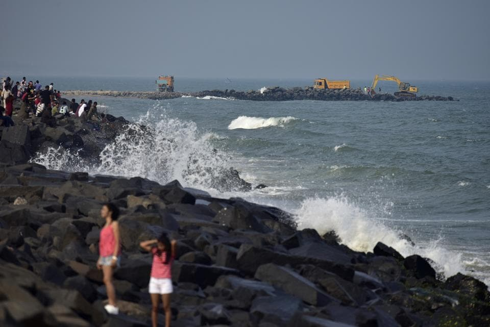 The NDRF and the Indian Coast Guard have been put on high alert and fishermen asked not to venture into the sea, the Home Ministry said Monday. According to the India Meteorological Department (IMD), Cyclone Fani's landfall over Tamil Nadu and Andhra Pradesh is ruled out. However, the possibility of landfall in Odisha is under continuous watch. (Arijit Sen / HT Archive)