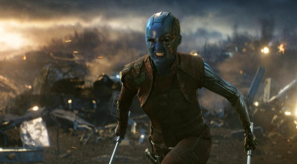 Karen Gillan in a scene from Avengers: Endgame.The film is India's biggest opener after Baahubali: The Conclusion.