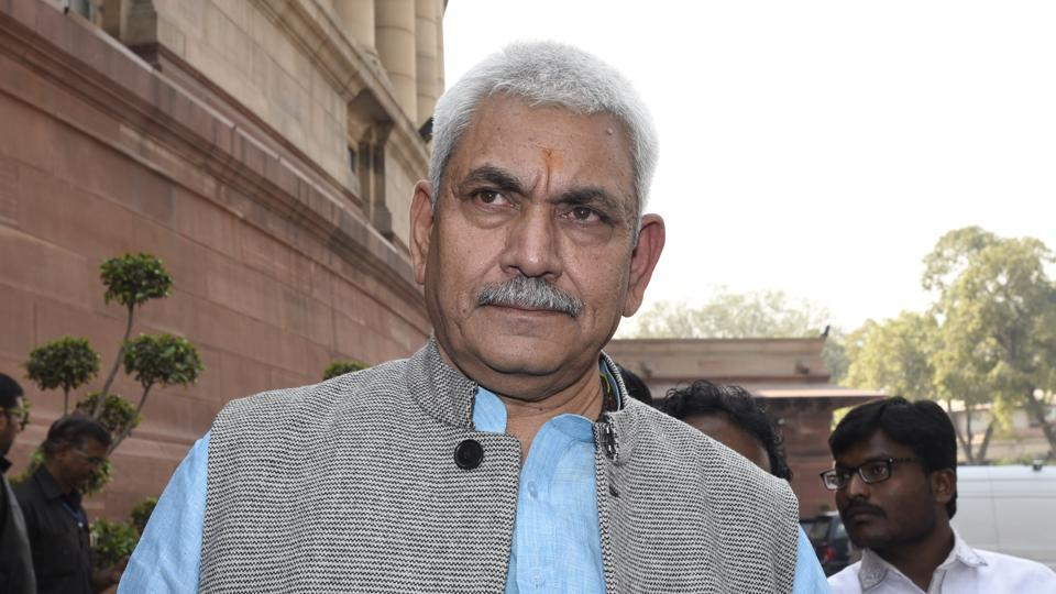 Union minister Manoj Sinha, 59, is the Bharatiya Janata Party (BJP)'s prominent upper caste leader from Eastern Uttar Pradesh, who is seeking his fourth term in Lok Sabha.
