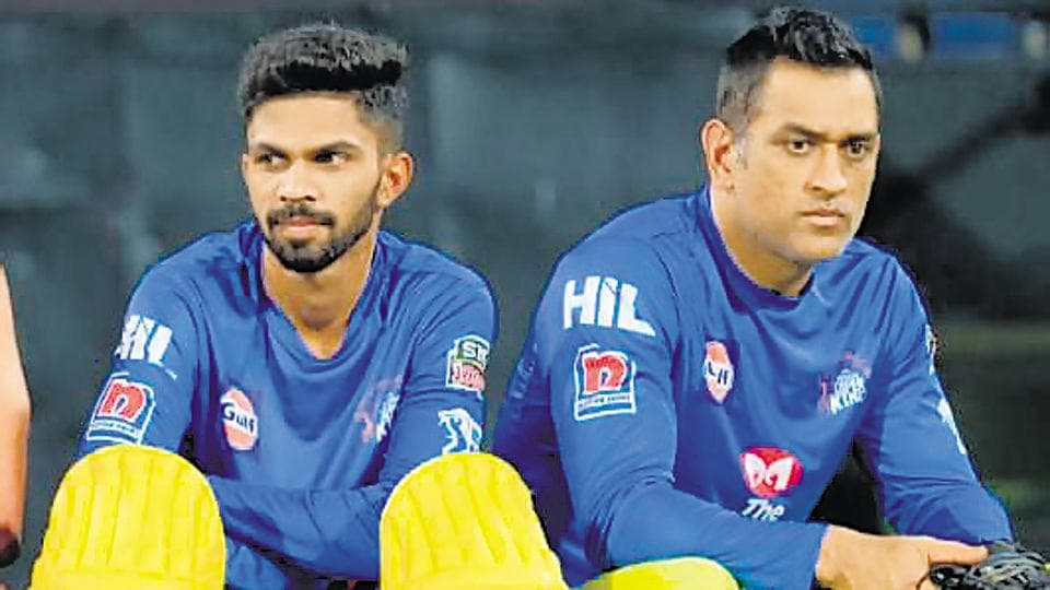 Ruturaj Gaikwad (left) says he takes every chance he gets to learn from Mahendra Singh Dhoni.