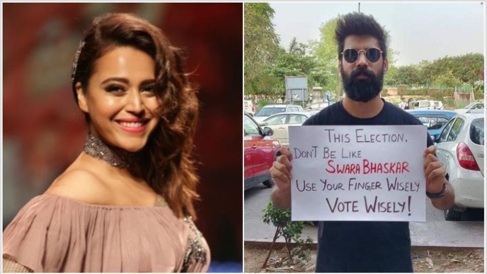 Swara Bhaskar has hit back at slut-shaming trolls on Twitter.