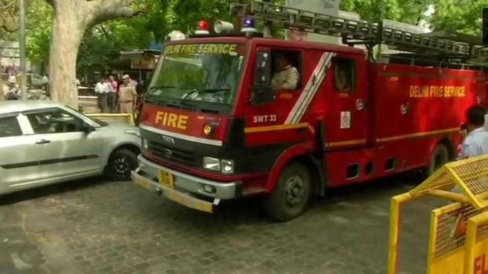 Shastri Bhawan,Shastri Bhawan fire,Ministries of Law