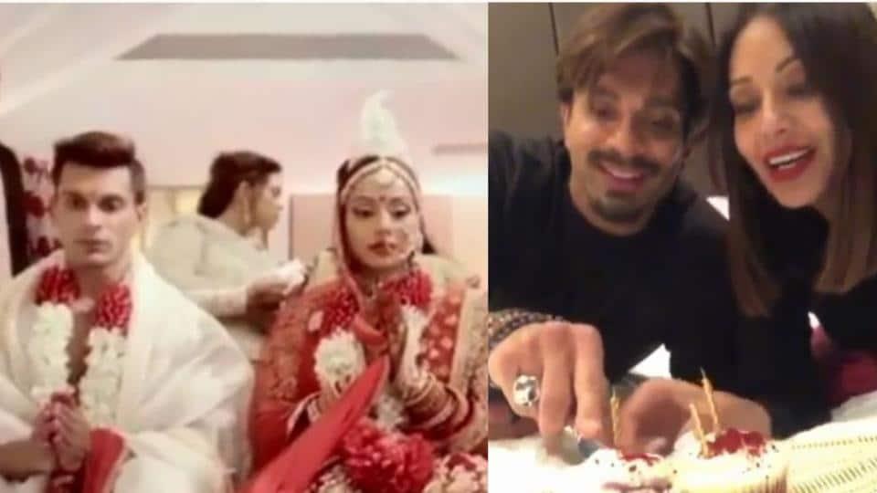 Bipasha Basu, Karan Singh Grover celebrated their third wedding anniversary in London.