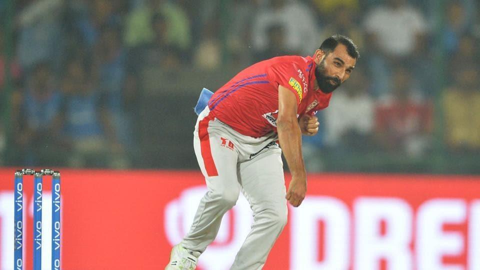 IPL 2019,KXIP,Mohammad Shami