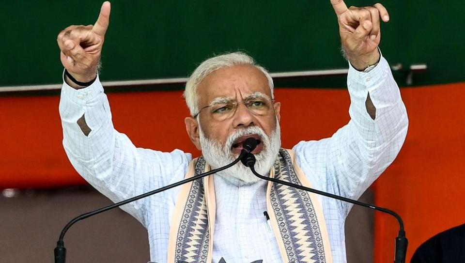 """Prime Minister Narendra Modi on Tuesday called the Grand Alliance in Bihar an """"fake alliance."""""""