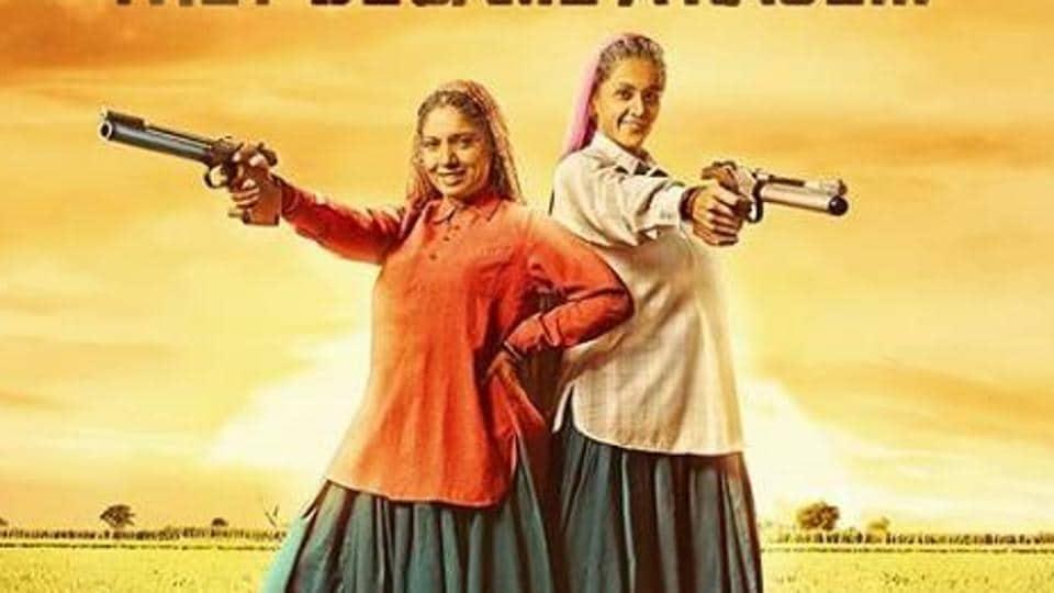 Taapsee Pannu and Bhumi Pednekar play 60 year old women shooters in Saand Ki Aankh.