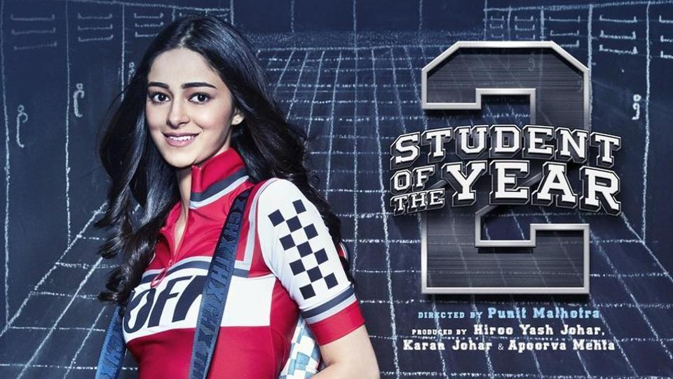 Ananya Panday makes her Bollywood debut with Student of the Year 2.