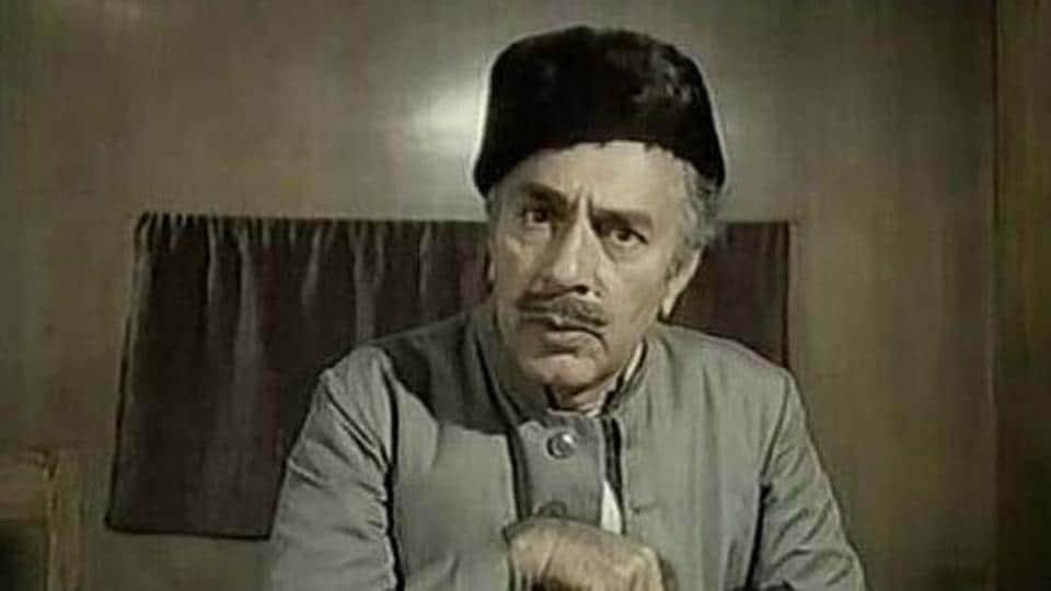 BalrajSahni in Garam Hawa.