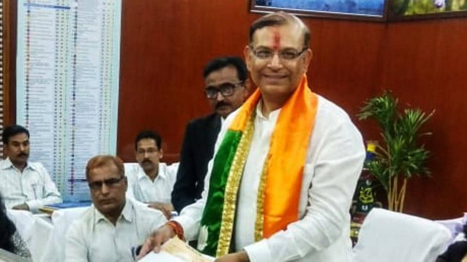 jayant sinha,lok sabha elections 2019,fifth phase voting