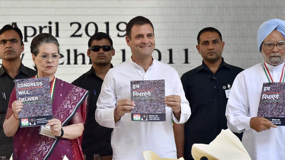 One of the gaps in the Congress's campaign so far has been its inability to confront Prime Minister Narendra Modi and the Bharatiya Janata Party (BJP) on three issues.