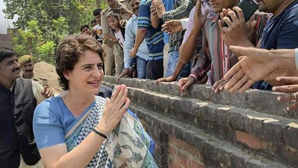 The video of Priyanka Gandhi was cited by Union Minister Smriti Irani to launch a new attack on Priyanka Gandhi who is overseeing the party's campaign in 41 Lok Sabha seats of eastern Uttar including the two where brother Rahul and mother Sonia Gandhi are candidates.