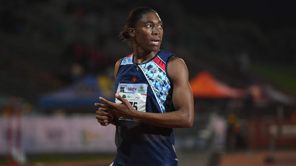 File image of South African Olympic 800m champion Caster Semenya.