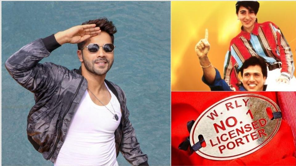 Varun Dhawan will play the lead in the remake of Govinda's Coolie No. 1.