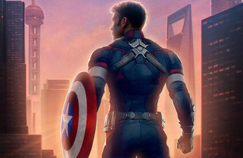 Chris Evans plays Captain America in the Marvel Cinematic Universe.