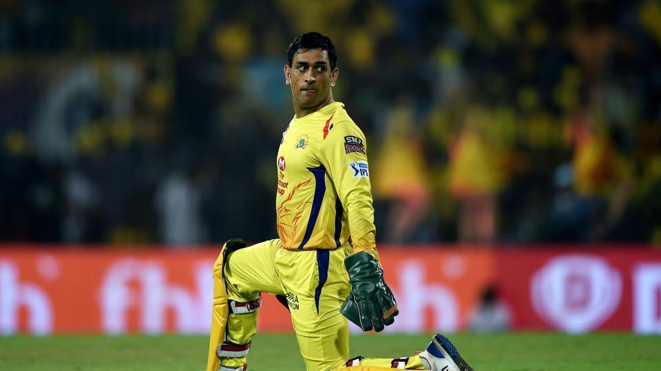 Chennai: Chennai Super Kings (CSK) skipper MS Dhoni during the Indian Premier League 2019)