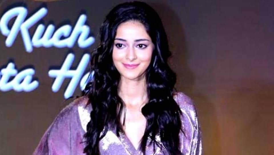 Ananya Panday will make her film debut with Student of the Year 2.