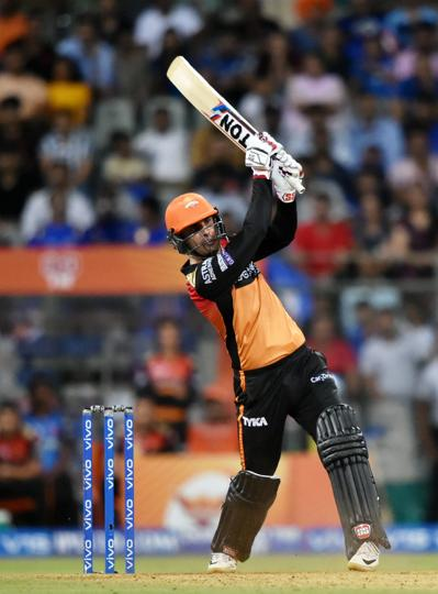 The Sunrisers Hyderabad managed just 8/2 in their Super Over. (PTI)