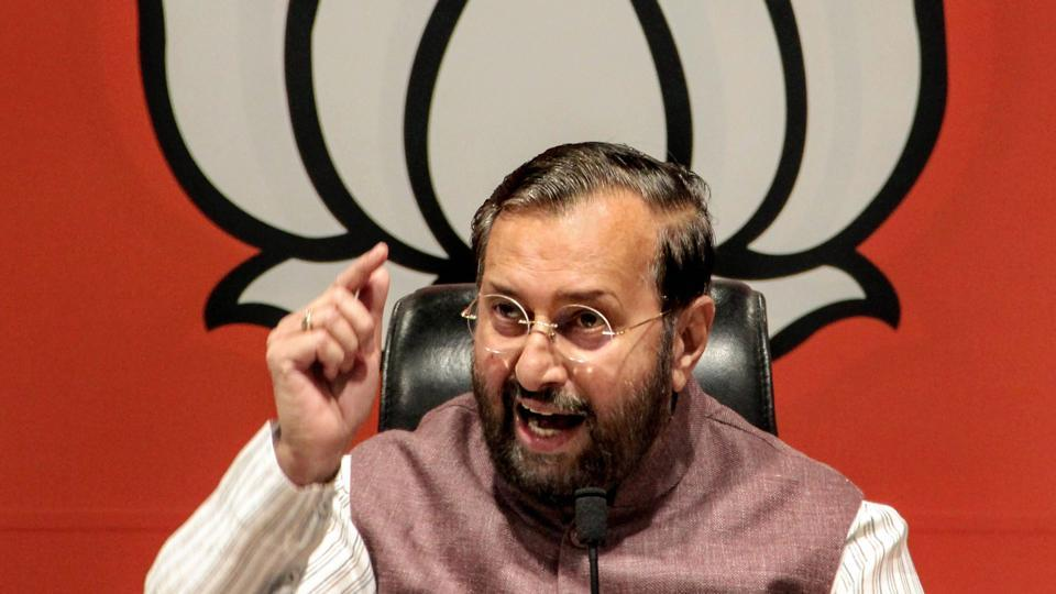 "Union minister Prakash Javadekar has hit out at the Congress' claims about the six surgical strikes across the border into Pakistan, which were carried during the UPA government's reign. ""Till recently, Congress was asking for proof of surgical strike. Now they say they have conducted 6 such strikes!"" Prakash Javadekar tweeted on Friday. (PTI File)"