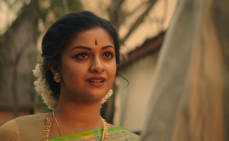 Keerthy Suresh played Savithri in Mahanati.
