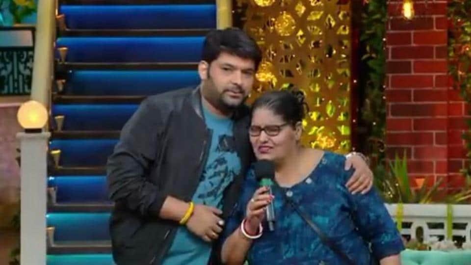 Kapil Sharma welcomes mother on The Kapil Sharma Show