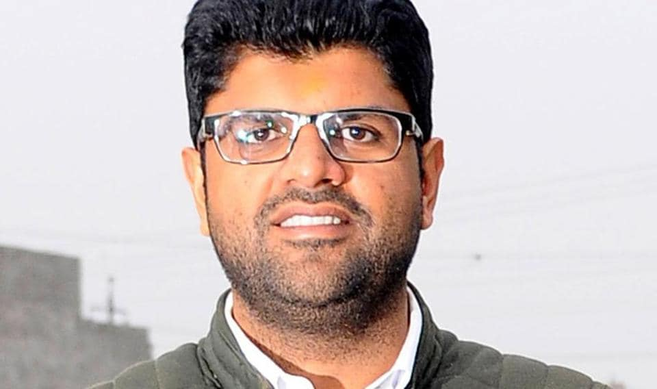 Sitting MP Dushyant Chautala, the great grandson of Chaudhary Devi Lal, a former deputy prime minister.