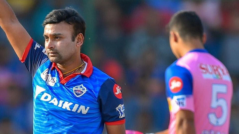 DD vs RR, IPL 2019: Turning point - Amit Mishra scalps two wickets ...: Bowlers