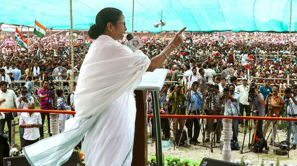 West Bengal Chief Minister and Trinamool Congress supremo Mamata Banerjee