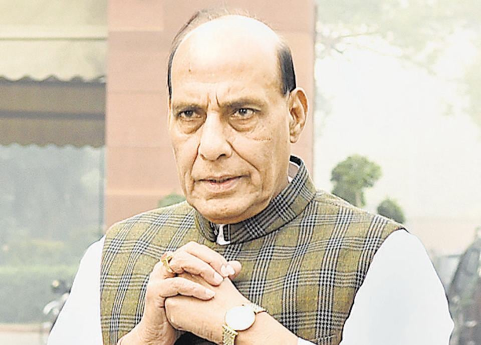 In a poll season marred by 'Ali vs Bajrang Bali' controversy, Rajnath has blended his campaign with temple visits, sandwiched by visits to Muslim clerics and churches.