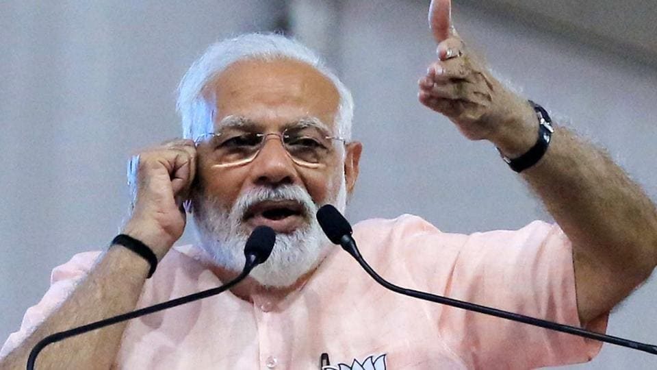 Prime Minister Narendra Modi launched a fresh attack on the opposition parties onSaturday.