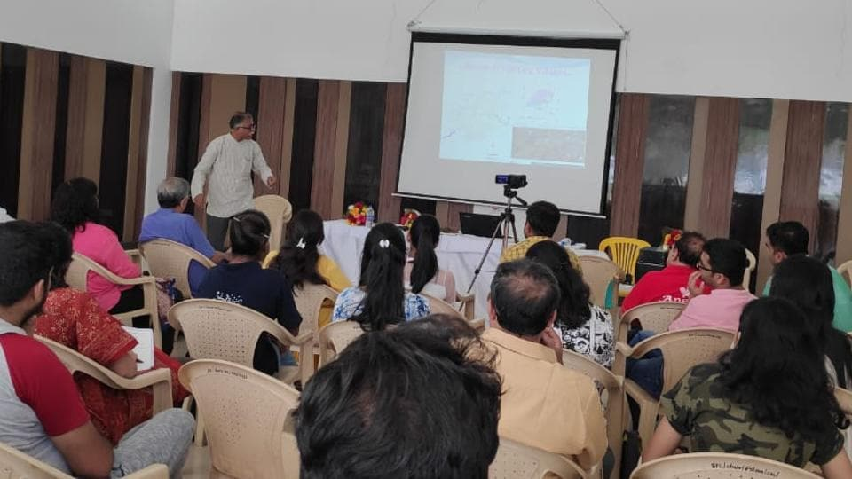 The seminar stressed upon the importance of groundwater recharge, aquifer management and techniques of rainwater harvesting.