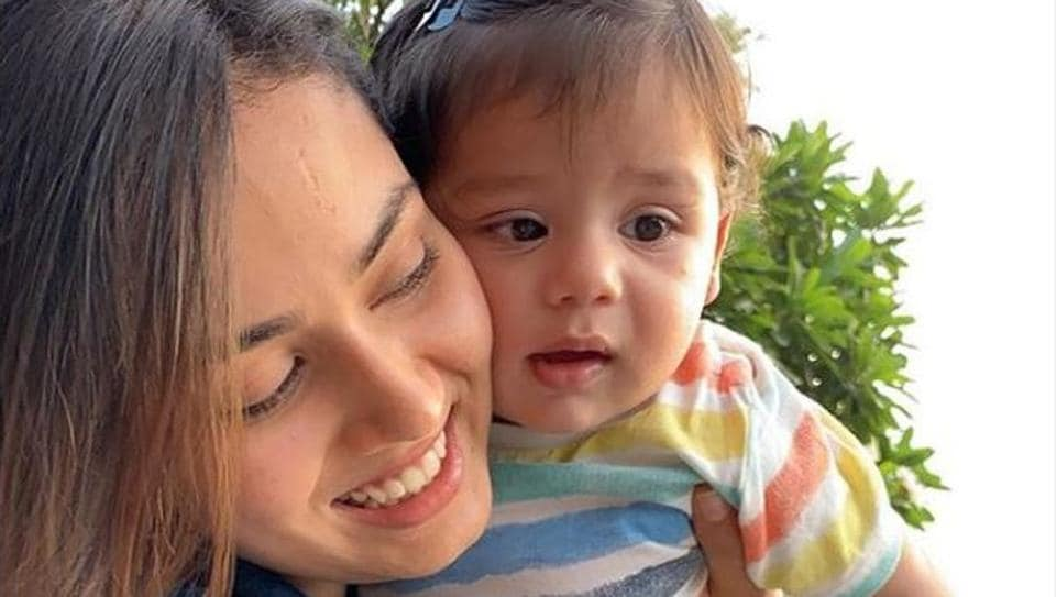 Shahid Kapoor's wife Mira Rajput shared a new picture of their son Zain on Instagram.