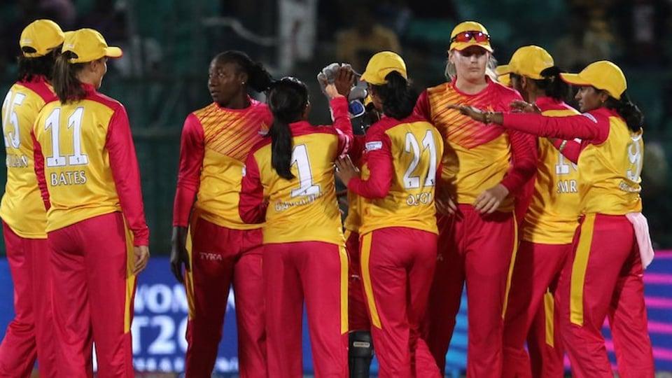 Smriti Mandhana's Trailblazers beat Harmanpreet Kaur's Supernovas by two runs in the Women's T20 Challenge in Jaipur on Monday.