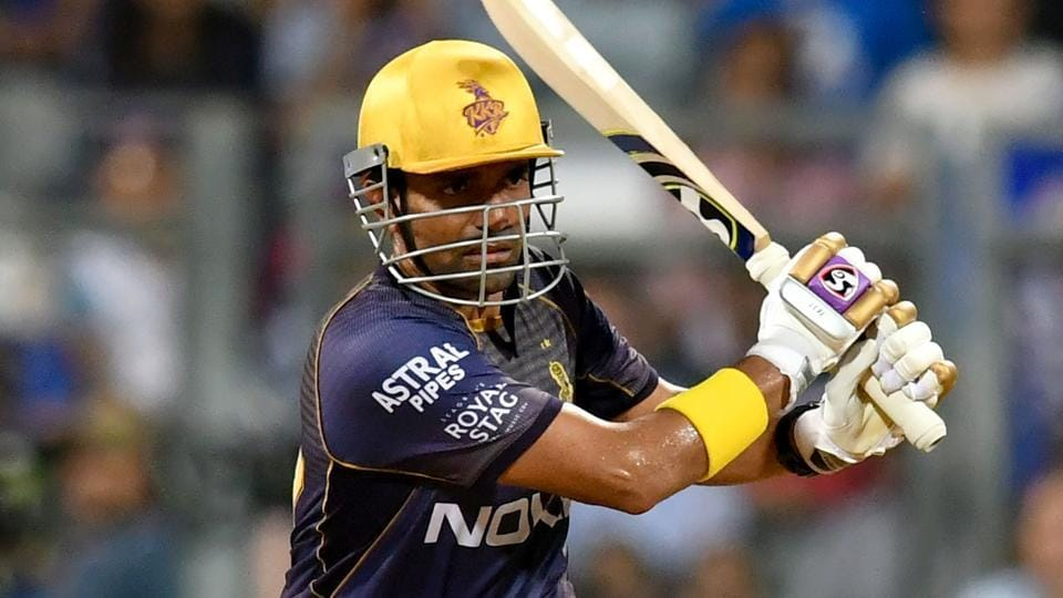 Robin Uthappa in action.