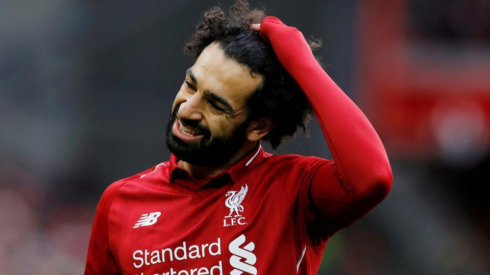 Liverpool's Mohamed Salah was ruled out of the UEFAChampions League against FCBarcelona.