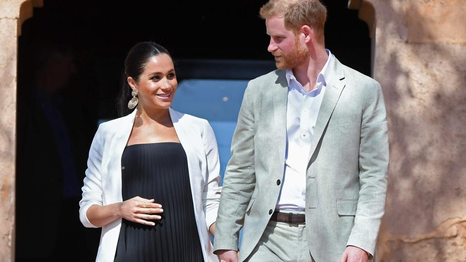 Prince Harry and his wife Meghan, Duke & Duchess of Sussex.