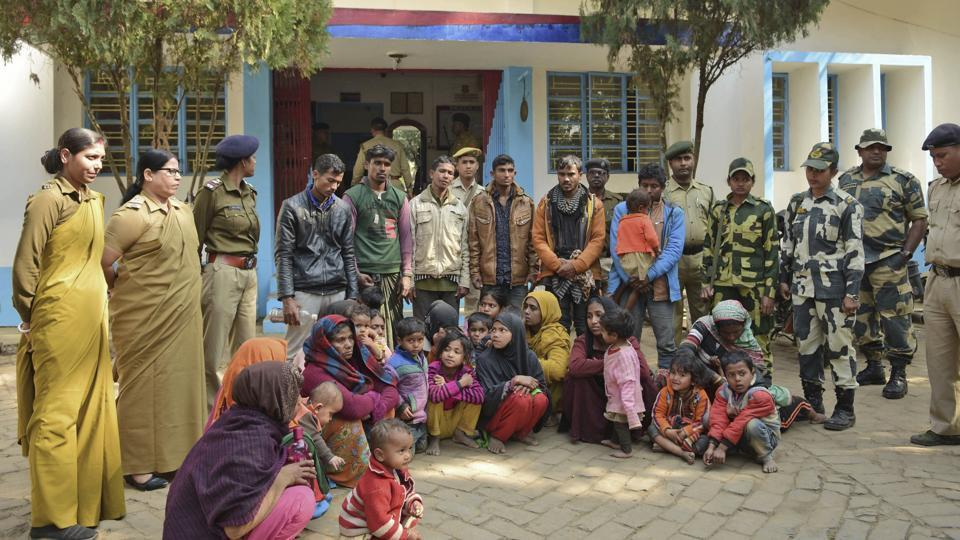 Rohingyas,Trafficking,Mizoram