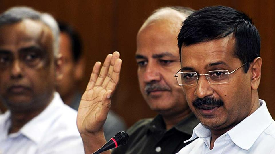 The Delhi Police on Sunday evening arrested the 33-year-old man who had attacked Arvind Kejriwal during a roadshow in west Delhi's Moti Nagar a day earlier, even as the chief minister alleged a threat to his life.
