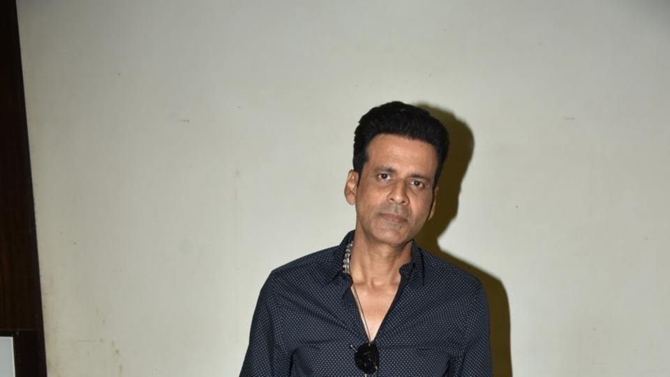 Manoj Bajpayee at the launch of Ghazal album Ghaliban in Mumbai, on March 27.
