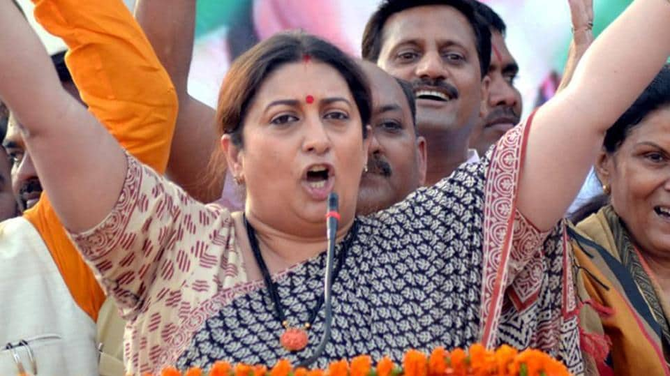 Union minister Smriti Irani was a proud mom, second time in four days, as her daughter cleared CBSE class 10 exams with 82% marks.