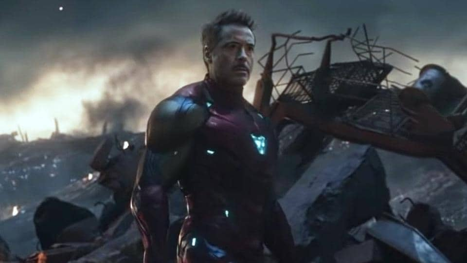 Image result for tony stark endgame
