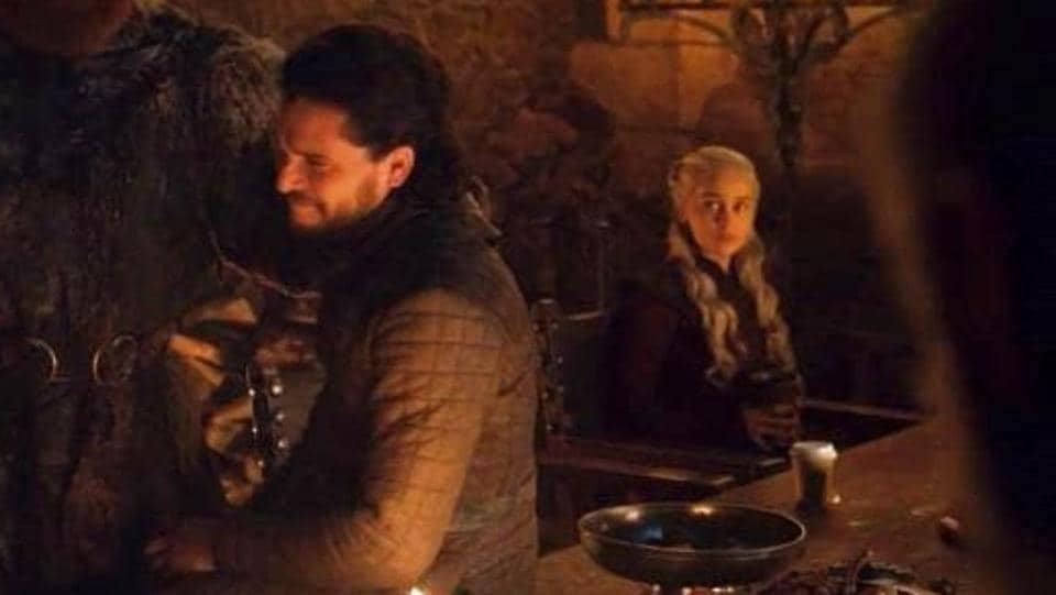 Daenerys has apparently ordered herbal tea on Game of Thrones.