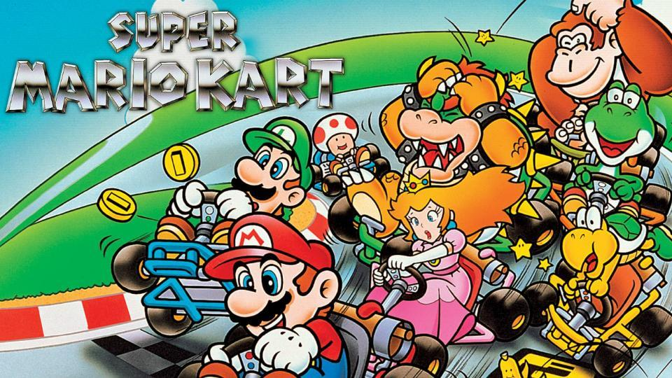 Super Mario Kart launched in 1992.
